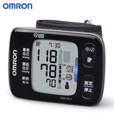 【返品OK!条件付】オムロン 手首式血圧計 HEM-6311 【KK9N0D18P】【80サイズ】
