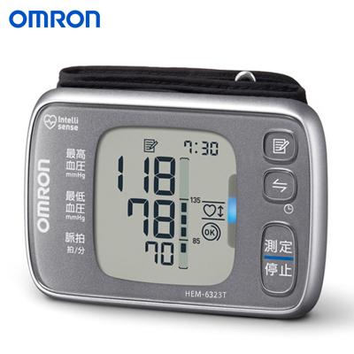 【返品OK!条件付】オムロン 手首式血圧計 HEM-6323T 【KK9N0D18P】【60サイズ】