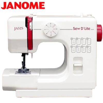 安心の30日以内返品OK 条件付 即納 NEW ARRIVAL 返品OK ジャノメ 2020A/W新作送料無料 ミシン JA525 電動ミシン KK9N0D18P 120サイズ JANOME