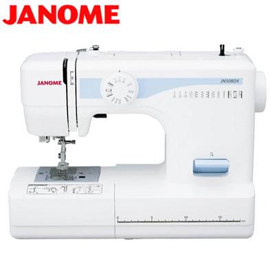 安心の30日以内返品OK 条件付 返品OK ジャノメ メーカー直売 いつでも送料無料 ミシン KK9N0D18P JANOME JN508DX 120サイズ 電動ミシン