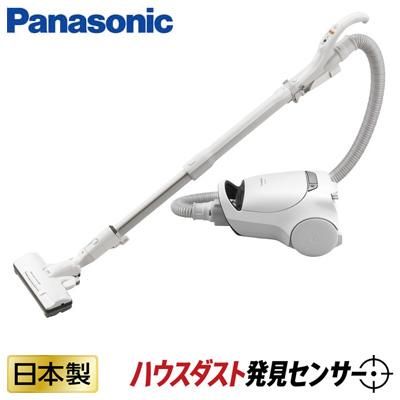 【返品OK!条件付】パナソニック 掃除機 紙パック式 クリーナー ハウスダスト発見センサー搭載 MC-PA100G-W ホワイト 【KK9N0D18P】【120サイズ】