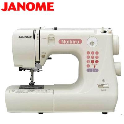 【返品OK!条件付】ジャノメ ミシン 電子ミシン N515 JANOME 【KK9N0D18P】【120サイズ】