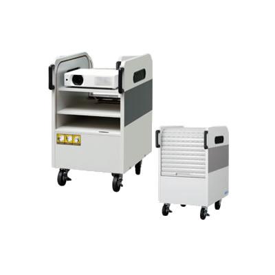 【返品OK!条件付】KIC プロジェクターカート PJ-CW 【KK9N0D18P】【180サイズ】