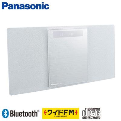 【返品OK!条件付】パナソニック コンパクトステレオシステム ミニコンポ SC-HC400-W ホワイト 【KK9N0D18P】【100サイズ】