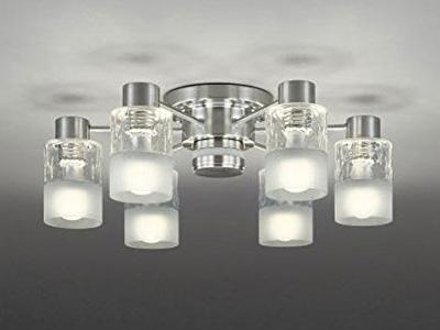 【返品OK!条件付】オーデリック 天井照明 光色切替調光LEDシャンデリア SH7001LDR 【KK9N0D18P】【120サイズ】