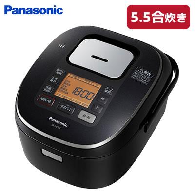 【返品OK!条件付】パナソニック 5.5合炊き IHジャー炊飯器 SR-HB107-K ブラック 【KK9N0D18P】【100サイズ】