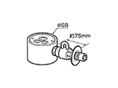 【返品OK!条件付】食器洗い機設置用 分岐水栓 CB-SGA6 【KK9N0D18P】【60サイズ】