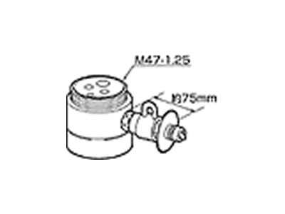 【返品OK!条件付】食器洗い機設置用 分岐水栓 CB-SJA6 【KK9N0D18P】【60サイズ】