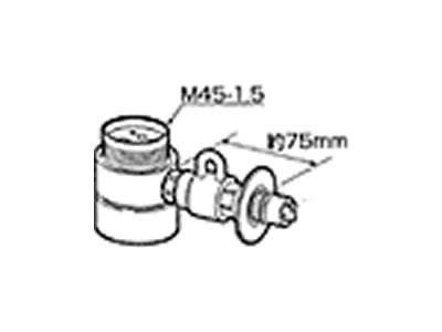 【返品OK!条件付】食器洗い機設置用 分岐水栓 CB-SMF6 【KK9N0D18P】【60サイズ】