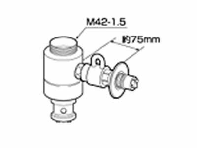 【キャッシュレス5%還元店】【返品OK!条件付】食器洗い機設置用 分岐水栓 CB-SXH7 シングル分岐水栓・INAX社用 【KK9N0D18P】【60サイズ】