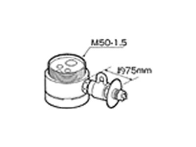 【返品OK!条件付】食器洗い機設置用 分岐水栓 CB-SYA6 【KK9N0D18P】【60サイズ】