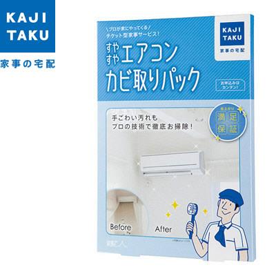 カジタク 家事玄人 カジクラウド すやすやエアコンカビ取りパック cleaning-01 【KK9N0D18P】