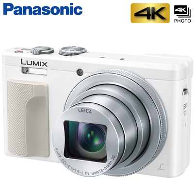 【返品OK!条件付】パナソニック デジタルカメラ コンパクトカメラ LUMIX ルミックス DMC-TZ85-W ホワイト 【KK9N0D18P】【60サイズ】