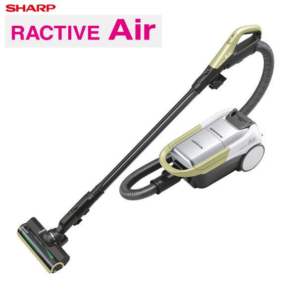 【返品OK!条件付】シャープ 掃除機 紙パック式 RACTIVE Air コードレスキャニスター紙パック式掃除機 EC-AP500-Y イエロー系 【KK9N0D18P】【120サイズ】
