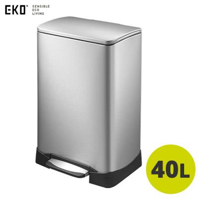 【返品OK!条件付】EKO ごみ箱 ネオキューブ ステップビン 40L EK9298MT-40L イーケーオー 【KK9N0D18P】【160サイズ】