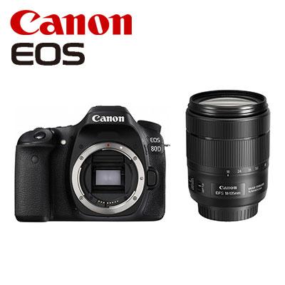 【キャッシュレス5%還元店】【返品OK!条件付】CANON デジタル一眼レフ EOS 80D EF-S 18-135 IS USM レンズキット EOS80D18135ISUSMLK 【KK9N0D18P】【120サイズ】