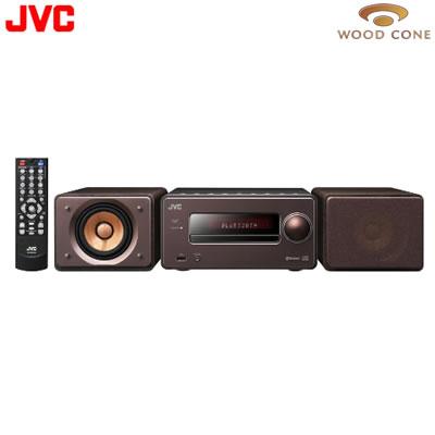 【返品OK!条件付】JVC コンパクトコンポーネントシステム EX-S55-T ブラウン 【KK9N0D18P】【120サイズ】