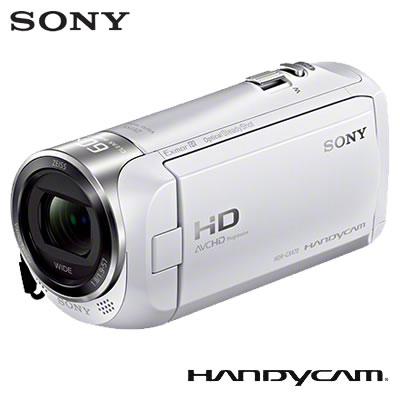 【返品OK!条件付】ソニー ビデオカメラ ハンディカム 32GB HDR-CX470-W ホワイト 【KK9N0D18P】【80サイズ】