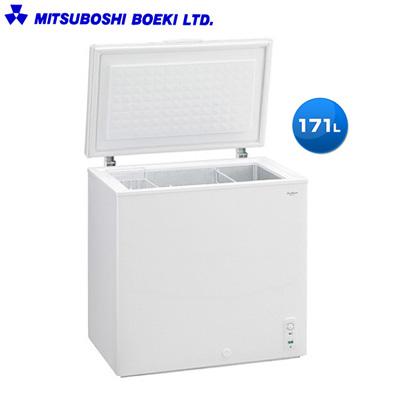 【返品OK!条件付】三ツ星貿易 171L 冷凍庫 チェスト型 フリーザー MA-6171A 【KK9N0D18P】【240サイズ】