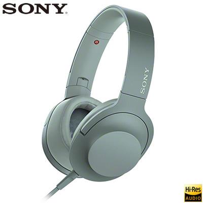 【返品OK!条件付】ソニー ステレオヘッドホン h.ear on 2 ハイレゾ対応 密閉ダイナミック型 MDR-H600A-G ホライズングリーン 【KK9N0D18P】【80サイズ】