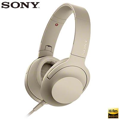 【返品OK!条件付】ソニー ステレオヘッドホン h.ear on 2 ハイレゾ対応 密閉ダイナミック型 MDR-H600A-N ペールゴールド 【KK9N0D18P】【80サイズ】