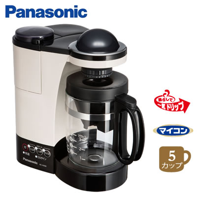 【返品OK!条件付】パナソニック コーヒーメーカー NC-R400-C カフェオレ 【KK9N0D18P】【100サイズ】