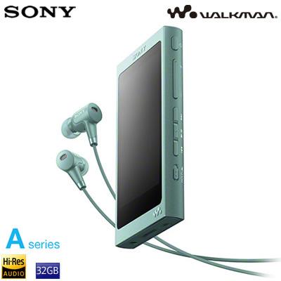 ソニー ウォークマン Aシリーズ 32GB ポータブルオーディオプレーヤー ハイレゾ対応 NW-A46HN-G ホライズングリーン
