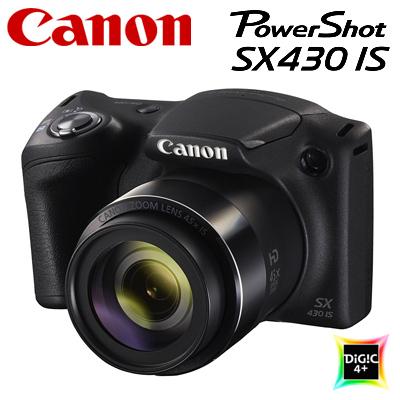 【返品OK!条件付】キヤノン コンパクトデジタルカメラ PowerShot SX430 IS パワーショット PSSX430IS 1790C004 【KK9N0D18P】【80サイズ】
