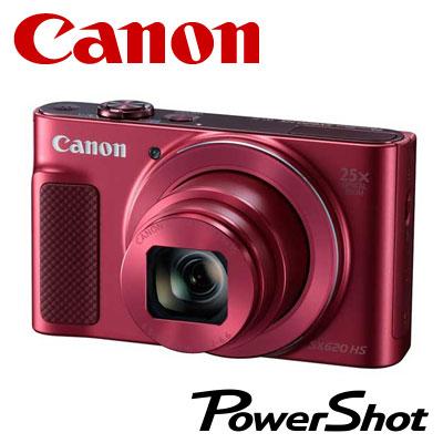 【キャッシュレス5%還元店】【返品OK!条件付】CANON デジタルカメラ PowerShot SX620 HS コンデジ PSSX620HS-RE レッド 【KK9N0D18P】【80サイズ】