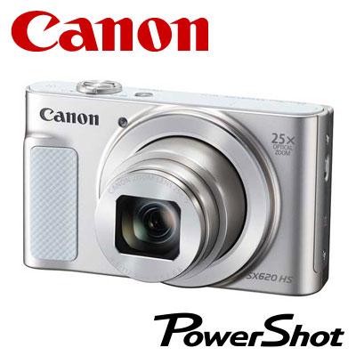 【キャッシュレス5%還元店】【返品OK!条件付】キヤノン デジタルカメラ PowerShot SX620 HS コンデジ PSSX620HS-WH ホワイト 【KK9N0D18P】【80サイズ】