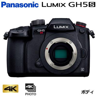 【キャッシュレス5%還元店】【返品OK!条件付】パナソニック ミラーレス一眼カメラ ルミックス LUMIX Gシリーズ GH5S ボディ DC-GH5S【KK9N0D18P】【80サイズ】