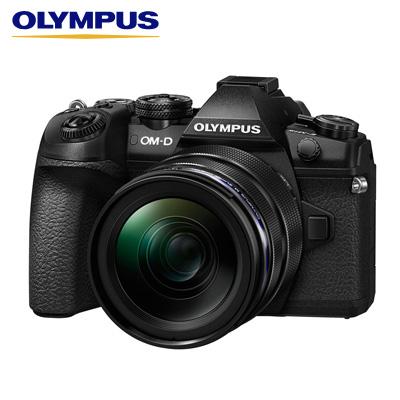 【返品OK!条件付】オリンパス デジタル一眼カメラ ミラーレス一眼カメラ OM-D E-M1 Mark II 12-40mm F2.8 PROキット E-M1-MarkII-LK-BK【KK9N0D18P】【80サイズ】