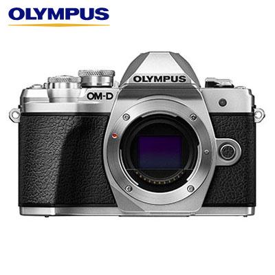 【返品OK!条件付】オリンパス デジタル一眼カメラ ミラーレス一眼カメラ OM-D E-M10 Mark III ボディー E-M10-MKIII-BODY-SL シルバー【KK9N0D18P】【80サイズ】