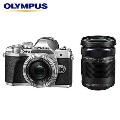 【返品OK!条件付】オリンパス デジタル一眼カメラ ミラーレス一眼カメラ OM-D E-M10 Mark III EZダブルズームキット E-M10-MKIII-EZWZK-SL シルバー【KK9N0D18P】【80サイズ】