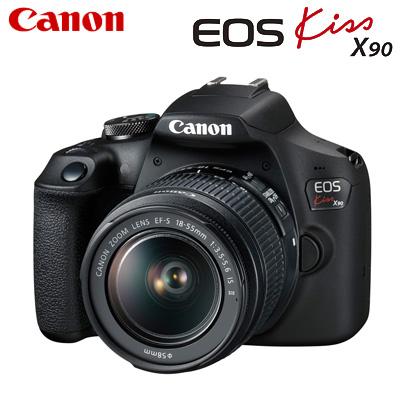 【返品OK!条件付】Canon キヤノン デジタル一眼レフカメラ EOS Kiss X90 EF-S18-55 IS II レンズキット EOSKissX90-1855IS2LK【KK9N0D18P】【80サイズ】