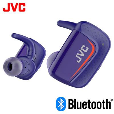 【返品OK!条件付】JVC イヤホン ワイヤレスステレオヘッドセット HA-ET900BT-A ブルー【KK9N0D18P】【60サイズ】