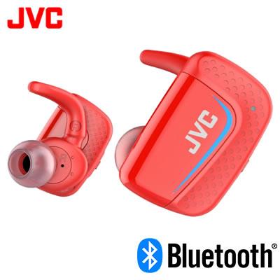 【キャッシュレス5%還元店】【返品OK!条件付】JVC イヤホン ワイヤレスステレオヘッドセット HA-ET900BT-R レッド【KK9N0D18P】【60サイズ】