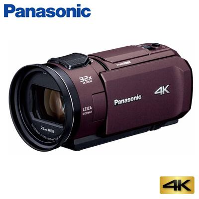【返品OK!条件付】パナソニック デジタルビデオカメラ 4K 64GB HC-VX1M-T ブラウン【KK9N0D18P】【80サイズ】
