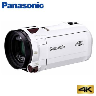 【返品OK!条件付】パナソニック デジタルビデオカメラ 4K 64GB HC-VX990M-W ホワイト【KK9N0D18P】【80サイズ】