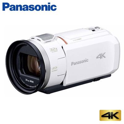 【ポイント最大44倍!~7/26(金)1:59迄※要エントリー】【返品OK!条件付】パナソニック デジタルビデオカメラ 4K 64GB HC-VZX1M-W ホワイト【KK9N0D18P】【80サイズ】