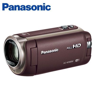 【返品OK!条件付】パナソニック デジタルビデオカメラ 32GB フルハイビジョン ワイプ撮り HC-W580M-T ブラウン【KK9N0D18P】【80サイズ】