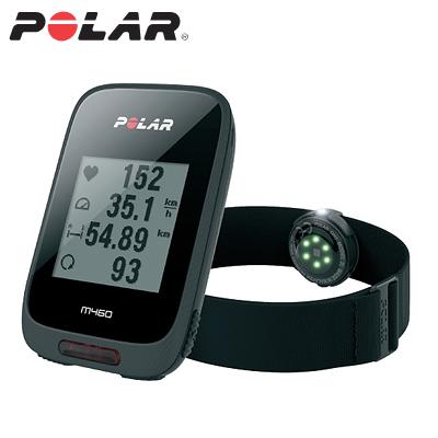 【返品OK!条件付】ポラール GPSサイクルコンピュータ M460 + 腕心拍センサーOH1 セットモデル 防水 M460-OH1 ブラック【KK9N0D18P】【60サイズ】