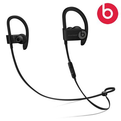 【返品OK!条件付】beats by dr.dre ワイヤレス イヤホン Powerbeats3 wireless 密閉型 Bluetooth対応 ML8V2PAA ブラック ML8V2PA/A【KK9N0D18P】【60サイズ】
