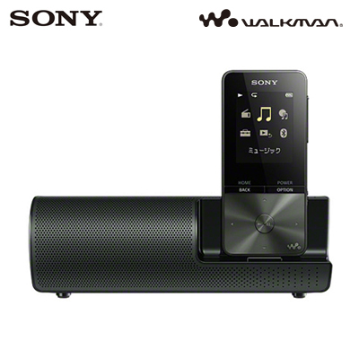 【キャッシュレス5%還元店】【返品OK!条件付】ソニー 4GB ウォークマン Sシリーズ NW-S310Kシリーズ スピーカー付属モデル NW-S313K-B ブラック 【KK9N0D18P】【80サイズ】