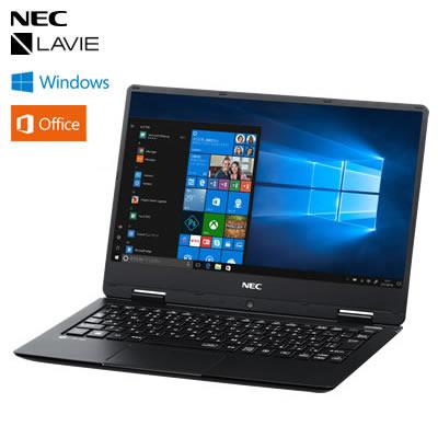 【返品OK!条件付】NEC ノートパソコン LAVIE Note NM550/KA PC-NM550KAB パールブラック 12.5型 2018年春モデル【KK9N0D18P】【100サイズ】