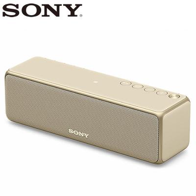 【返品OK!条件付】ソニー ワイヤレスポータブルスピーカー ハイレゾ対応 SRS-HG10-N ペールゴールド【KK9N0D18P】【80サイズ】