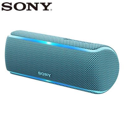 【返品OK!条件付】ソニー ワイヤレスポータブルスピーカー SRS-XB21-L ブルー【KK9N0D18P】【80サイズ】