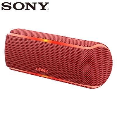 【返品OK!条件付】ソニー ワイヤレスポータブルスピーカー SRS-XB21-R レッド【KK9N0D18P】【80サイズ】