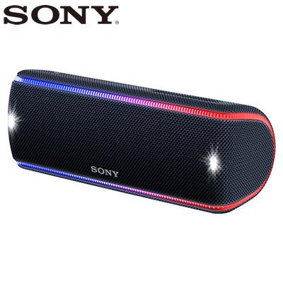 【返品OK!条件付】ソニー ワイヤレスポータブルスピーカー SRS-XB31-B ブラック【KK9N0D18P】【80サイズ】
