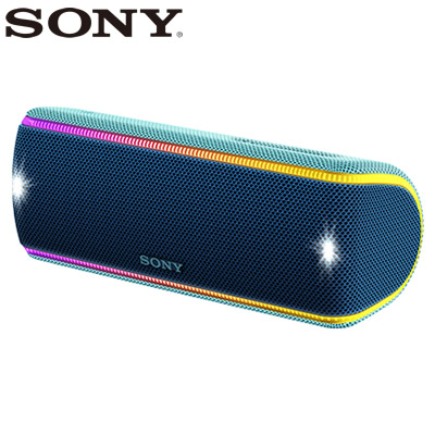 【返品OK!条件付】ソニー ワイヤレスポータブルスピーカー SRS-XB31-L ツートーンブルー【KK9N0D18P】【80サイズ】